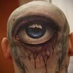 Татуировка третий глаз – вариант готовой тату