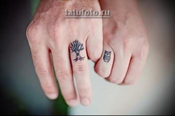 Парные татуировки для двоих влюбленных 1