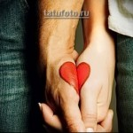 Парные татуировки для двоих влюбленных 2