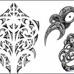 Полинезия тату эскизы - водные существа