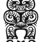 Полинезия тату эскизы - идол