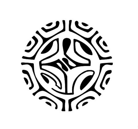 Полинезия тату эскизы - круг