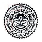 Полинезия тату эскизы - солнце