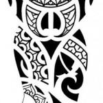 Полинезия тату эскизы - тотем