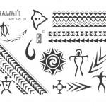 Полинезия тату эскизы 3