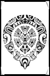 Полинезия тату эскизы 4