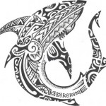 Полинезия тату эскизы 7