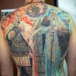Татуировки в славянском стиле5