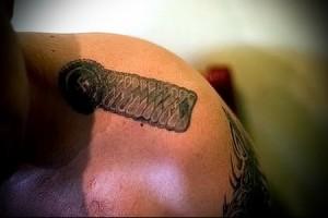воровская татуировка Эполет фото