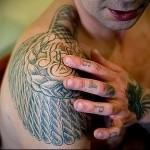 воровская татуировка Эполет