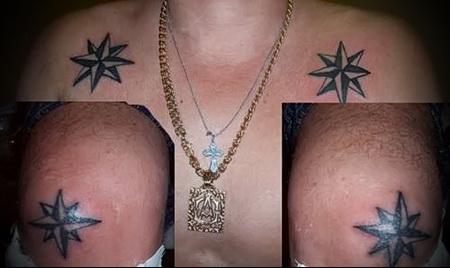 воровская татуировка звезда фото 1