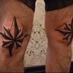 воровская татуировка звезда