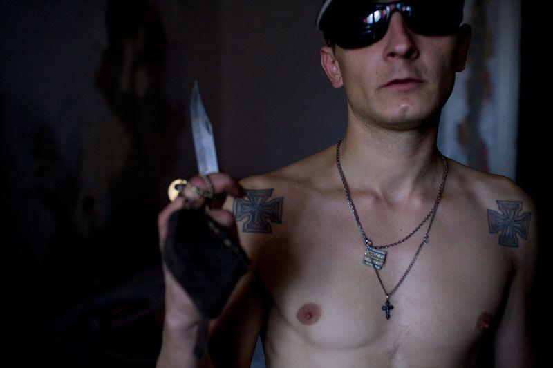 Классические татуировки преступника