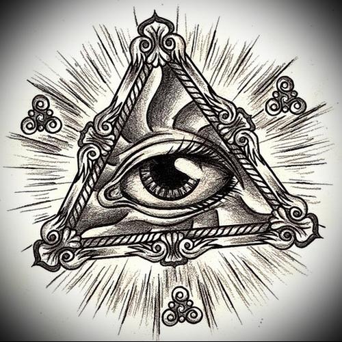 Значение татуировок «Всевидящее око»