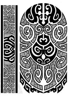 Полинезия тату эскизы - абстрактные рисунки