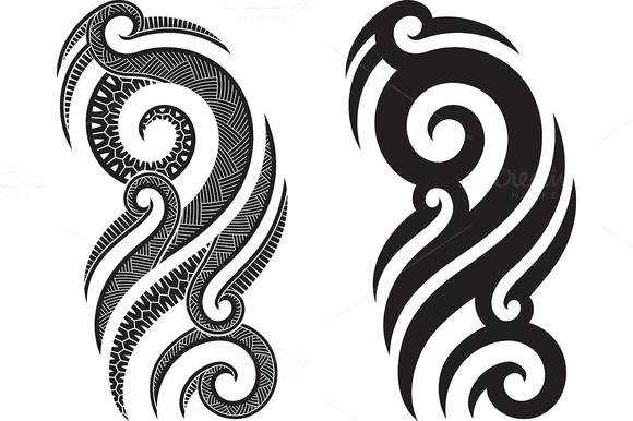 Полинезия тату эскизы 5