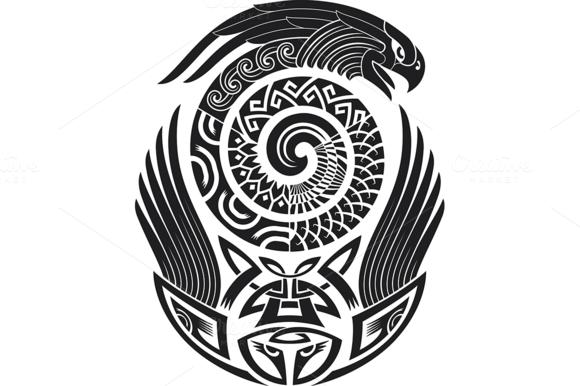 Полинезия тату эскизы 6
