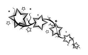 Эскизы тату звезда 13