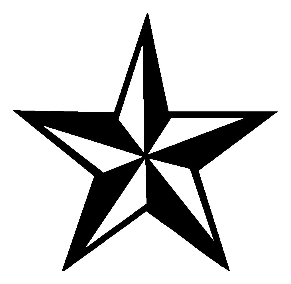 Эскизы тату звезда 5