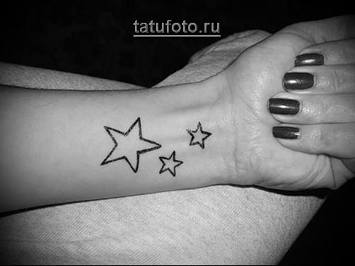 тату звезда 7