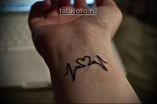 Татуировки на запястье для девушек: маленькие женские тату