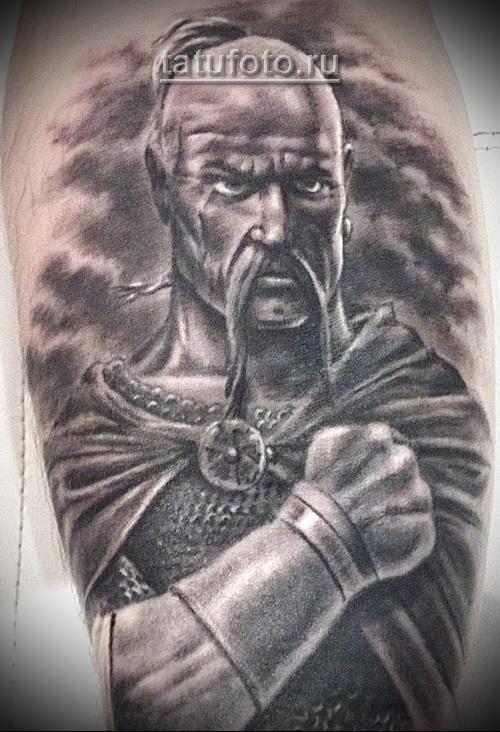 тату славянских воинов