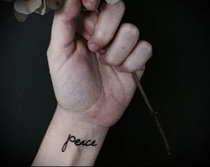тату надписи на руке 1