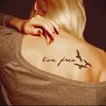 тату надписи про любовь 11