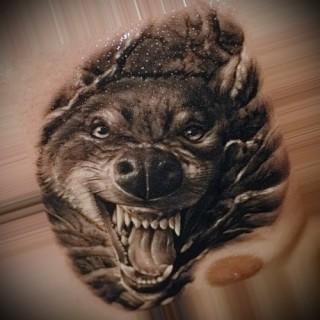 Татуировка волка ее значение с фото Узнайте что