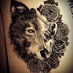 человек человеку волк тату 3