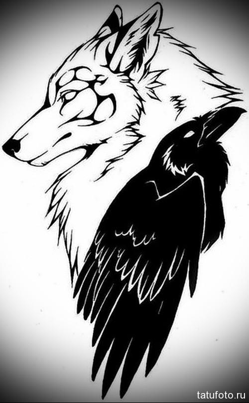 Значение тату волка 137