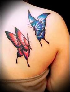 Butterfly Tattoo 6