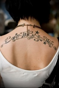 beautiful lettering for tattoo