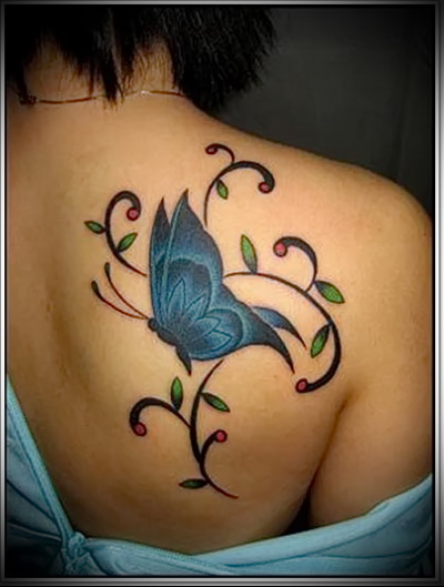 butterfly tattoo photo
