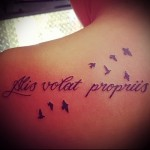 tattoo inscriptions in Latin