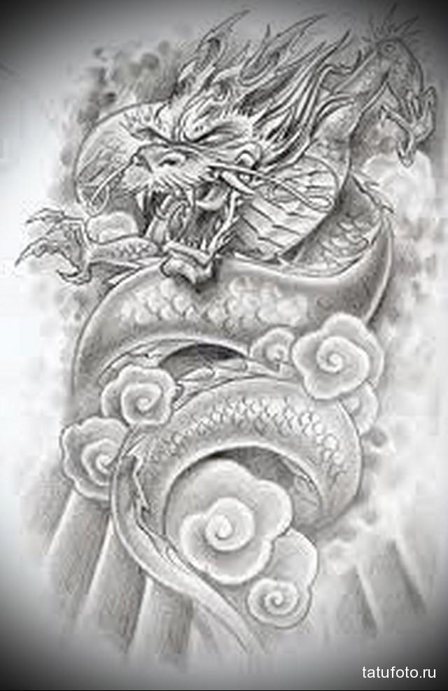 эскизы татуировок на грудине