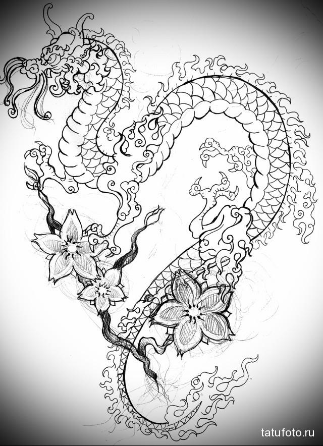 японские рисунки тату