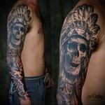 Indian tattoo sleeve