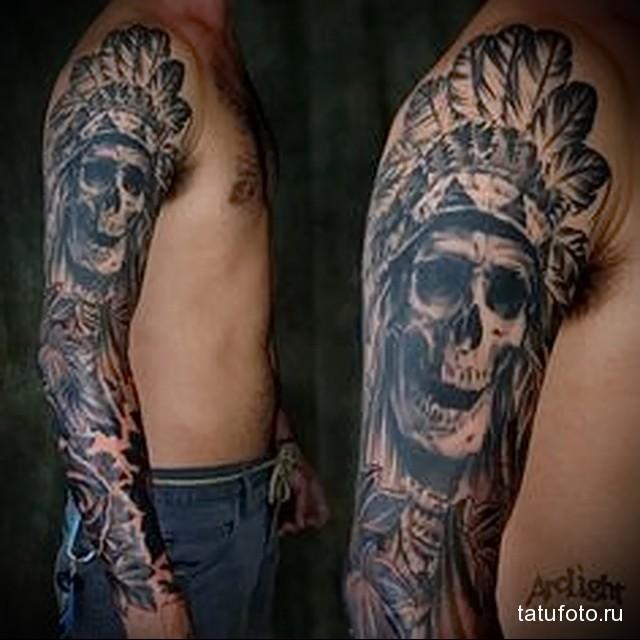 Indian tattoo sleeve