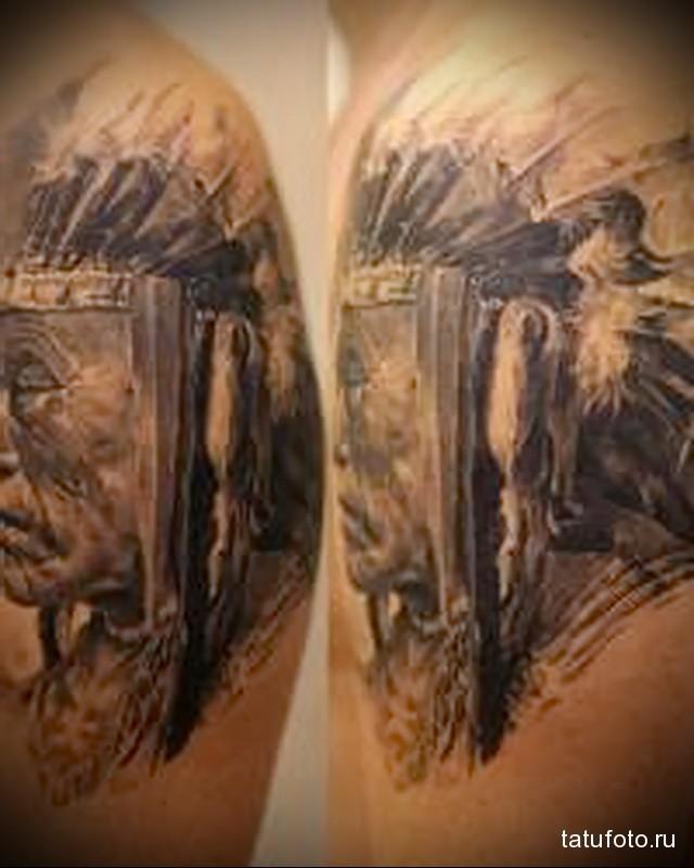 Indian tattoos profile