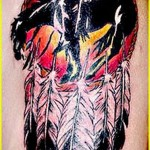 tattoo Indian on horse