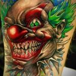 Значение татуировки клоун 1