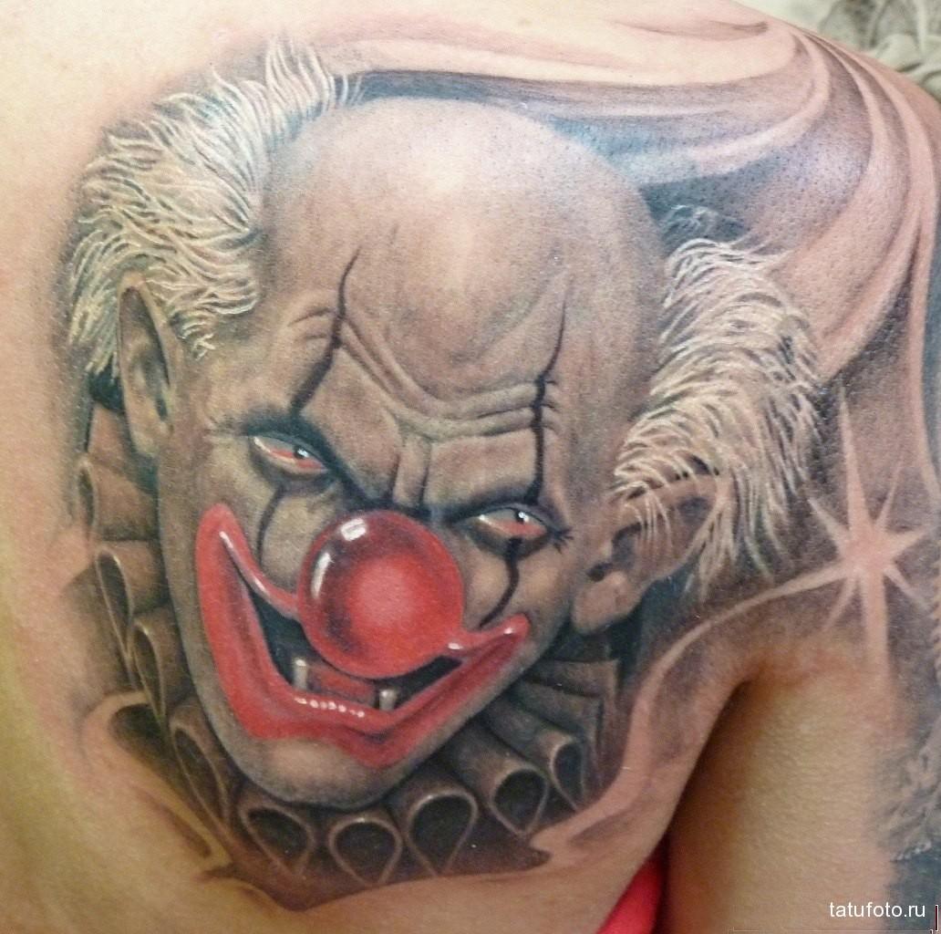 Значение татуировки клоун 2