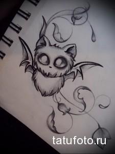 Значение татуировки летучая мышь 2
