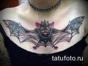 Значение татуировки летучая мышь 3