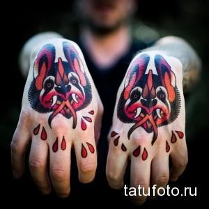Значение татуировки летучая мышь 6
