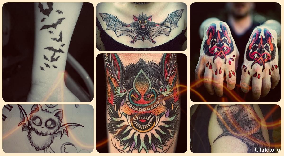 Значение татуировки летучая мышь