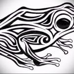 Значение татуировки лягушка 1