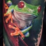 Значение татуировки лягушка 4