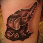 Значение татуировки слон 1